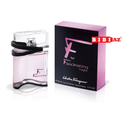 Salvatore Ferragamo F for Fascination night edp 50ml lady