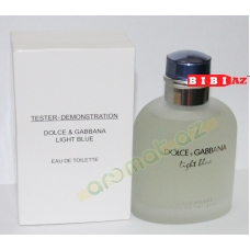 D&G light blue edt 125 ml man tester