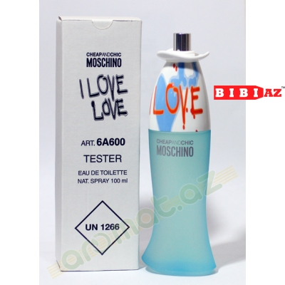 Moschino I love love edt 100 ml tester