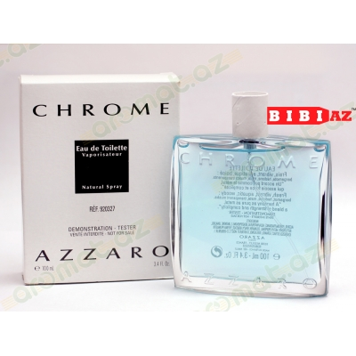 Azzaro Chrome edt 100 ml tester