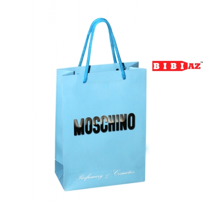 Подарочный пакет Moschino