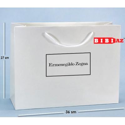 Подарочный пакет Ermenegildo Zegna(27x36)