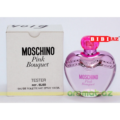 Moschino Pink Bouquet edt 100ml L tester