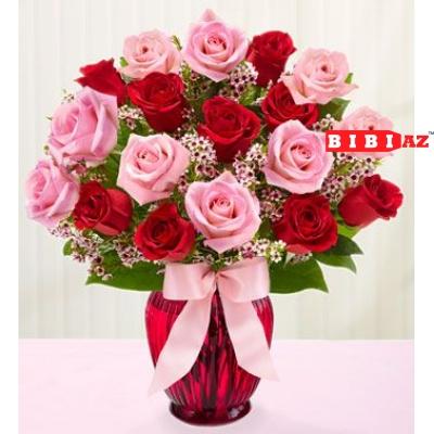 Композиция из 25 роз (0035)