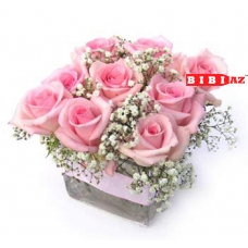 Композиция из 9 роз (0031)