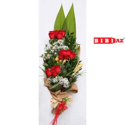 Букет из 15 Голландских Роз (7752)