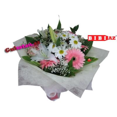 Букет из полевых цветов (М109)