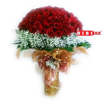 Букет из 101 розы (V134)