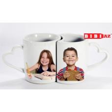 2 чашки с фото и надписью 122