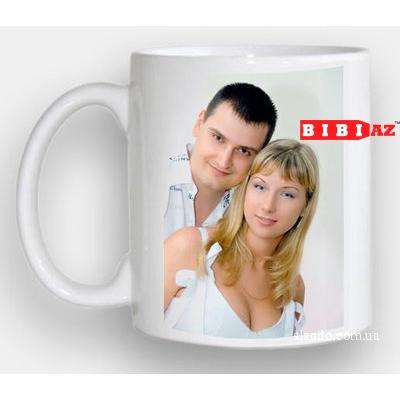 Чашка с вашим фото и надписью 101