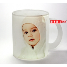 Матовая чашка с фото и надписью 138