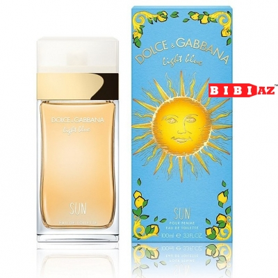 DOLCE  GABBANA Light Blue Sun edt L