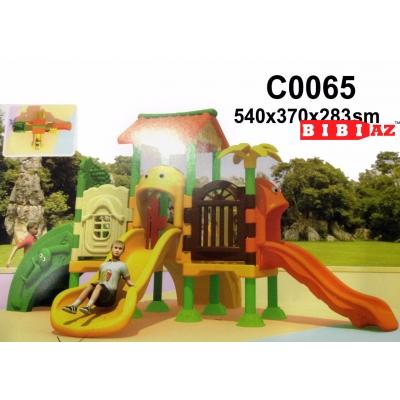 Детские качели-горка C0065