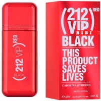 Carolina Herrera 212 Vip Black Red Edp 100ml