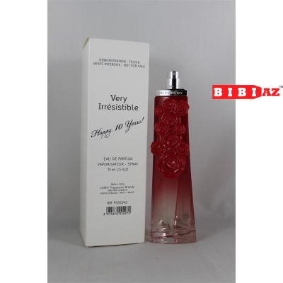 Givenchy Very Irresistible  Happy 10 years! edp 75ml tester
